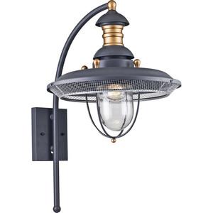 Уличный настенный светильник Maytoni S105-57-01-G настенный светильник maytoni h301 01 g