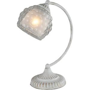 Настольная лампа IDLamp 285/1T-Whitepatina настольная лампа idlamp 283 3t chrome