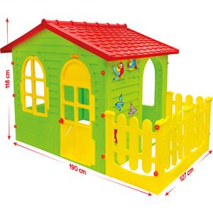 Домик с забором-садовый Mochtoys (10498) гриль mochtoys 11021