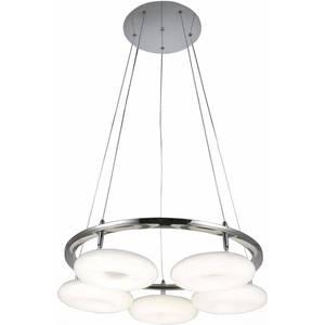 Подвесная светодиодная люстра ST-Luce SL903.103.05 подвесная светодиодная люстра st luce fondere sl906 403 08