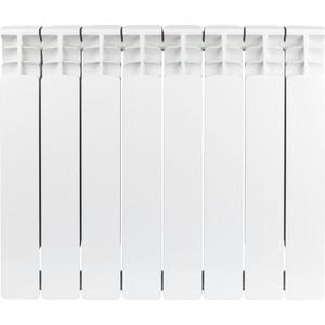 Радиатор отопления STOUT Space 500 биметаллический 8 секций (SRB-0310-050008) радиатор отопления stout space 500 биметаллический 10 секций srb 0310 050010