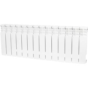 Радиатор отопления STOUT Space 350 биметаллический 14 секций (SRB-0310-035014) радиатор отопления stout space 500 биметаллический 10 секций srb 0310 050010