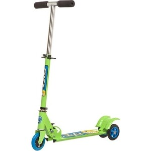 Самокат городской FOXX Smooth Motion сталь PVC колеса 100мм, ABEC-7, зеленый (100SM.FOXX.GN7)