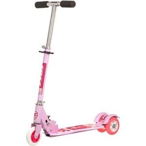 Самокат городской FOXX Smooth Motion сталь PVC колеса 100мм, ABEC-7, розовый (100SM.FOXX.PN7)