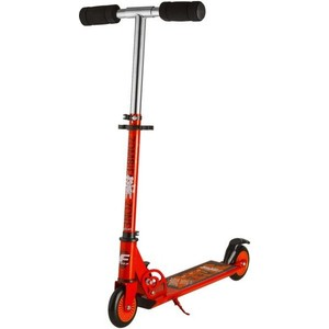 Самокат городской FOXX Zomby Zone алюм+сталь PU колеса 100мм, ABEC-7, оранжевый (100ZZ.FOXX.OR7)