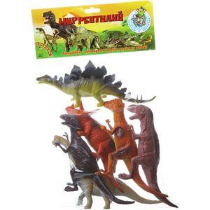 Bondibon Набор животных Ребятам о Зверятах, динозавры, 8-10, 6 шт. (ВВ1617) пляцковский м ребятам о зверятах