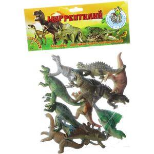 Bondibon Набор животных Ребятам о Зверятах, динозавры, 5, 12 шт. (ВВ1618)