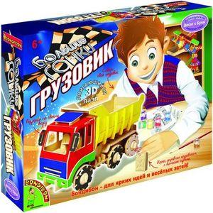 Bondibon Французское творчество Досуг с Буки, Движущийся деревян. 3D пазл Большие гонки Грузовик (ВВ1209)