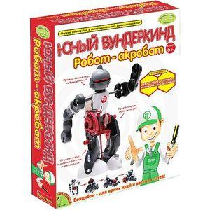 Bondibon Французские опыты Науки с Буки Юный вундеркинд Робот-акробат (ВВ0989)