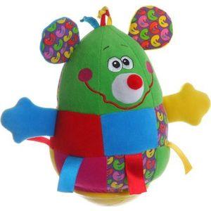 Bondibon Неваляшка Мышь 19 см. (ВВ1283) мягкие игрушки spiegelburg мишка неваляшка baby gluck