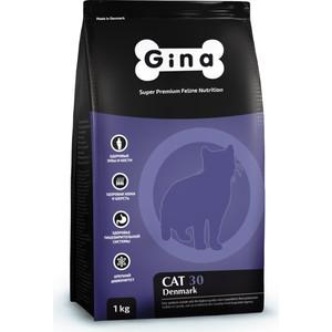 Сухой корм Gina Denmark CAT 30 с курицей и рисом для взрослых кошек 18кг (080117.3)