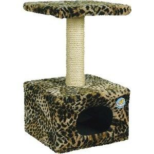 Когтеточка Зооник Дом малый цветной мех для кошек 340 х 600см (2209)