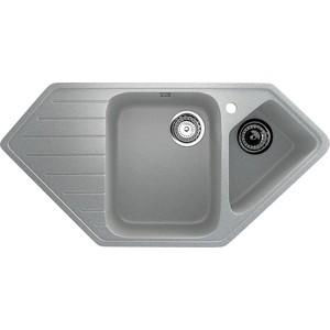 Кухонная мойка Ulgran U-409-310 серая