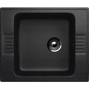 Кухонная мойка Ulgran U-204-308 черная вытяжка krona steel irida 600 black sensor