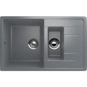 Кухонная мойка Ulgran U-205-309 темно-серая velante 315 205 02