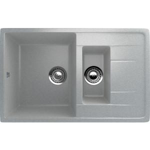 Кухонная мойка Ulgran U-205-310 серая кухонная мойка ulgran u 109 331 белый