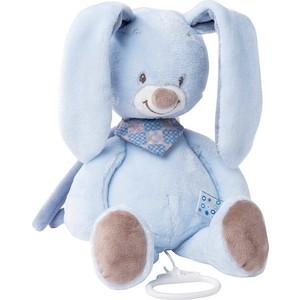 Игрушка мягкая Nattou Musical Soft toy Alex & Bibiou Кролик музыкальная 321044