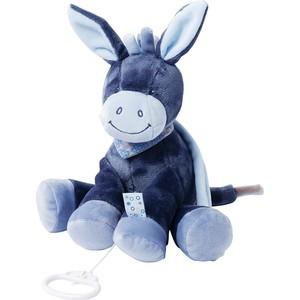 Игрушка мягкая Nattou Musical Soft toy Alex & Bibiou Ослик музыкальная 321051