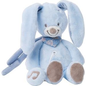 Игрушка мягкая Nattou Musical Soft toy MINI Alex & Bibiou музыкальная Кролик 321068