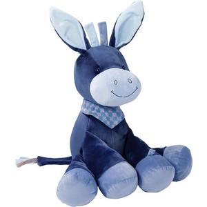 Игрушка мягкая Nattou Soft toy (Наттоу Софт Той) Alex & Bibiou Ослик 75 см 321020