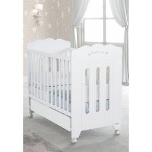 Кроватка Micuna Bonne Nuit 120х60 white micuna бортики и покрывало neus 120х60