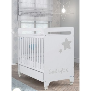Кроватка Micuna Istar 120х60 white/grey кроватка micuna nicole white