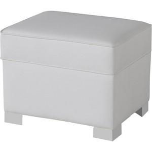 Пуф Micuna для кресла-качалки Foot rest white/white искусственная кожа цена