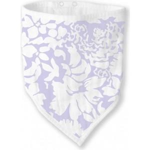 Бандана-нагрудник SwaddleDesigns Marquisette Lavender Lush (SD-671L)