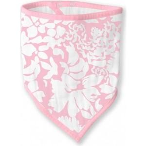 Бандана-нагрудник SwaddleDesigns Marquisette Pink Lush (SD-671P)