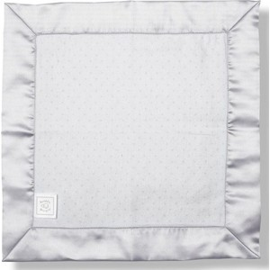Комфортер платочек обнимашка SwaddleDesigns Baby Lovie - Flannel Sterling Dot (SD-009ST)