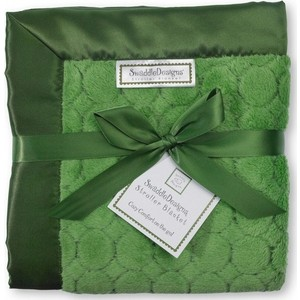Плед детский SwaddleDesigns Stroller Blanket Pure Green Puff C (SD-168PG)