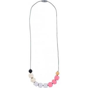 Силиконовые бусы Itzy Ritzy Bead Opal Blush (CUBENECK9204) цены