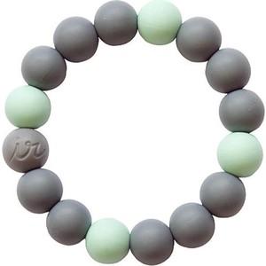 Силиконовый браслет Itzy Ritzy Round Bead Mint (BRACEBEAD9202)