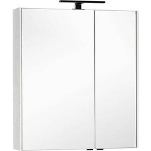 цена на Зеркальный шкаф Aquanet Тулон 75 белый (183392)
