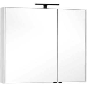 Зеркальный шкаф Aquanet Тулон 100 белый (183393)
