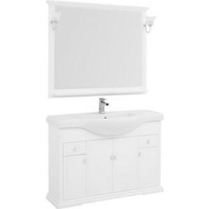 Мебель для ванной Aquanet Лагуна 120 белый