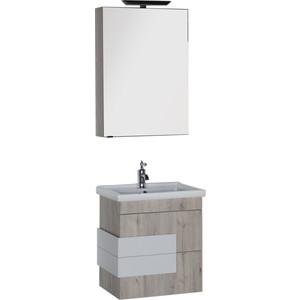 Мебель для ванной Aquanet Мадейра 60 дуб кантри