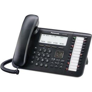 IP телефон Panasonic KX-DT546RUB ip телефон panasonic kx dt521ru