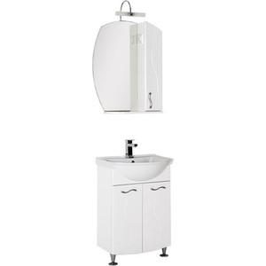 Мебель для ванной Aquanet Моника 60 белый