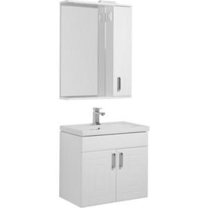 Мебель для ванной Aquanet Рондо 70 с дверцами, белый