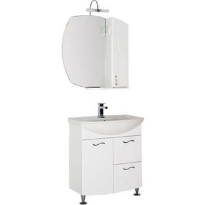 Мебель для ванной Aquanet Моника 75 белый