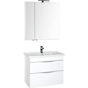 Мебель для ванной Aquanet Эвора 80 белый