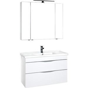 Мебель для ванной Aquanet Эвора 100 белый