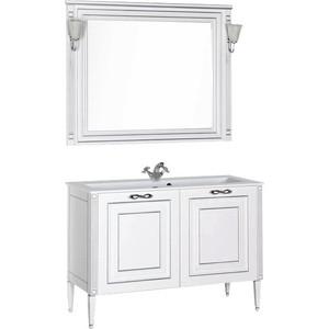 Мебель для ванной Aquanet Паола 120 белый/серебро