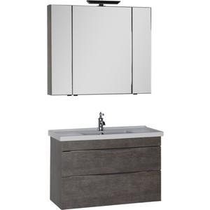Мебель для ванной Aquanet Эвора 100 дуб антик aquanet комплект мебели эвора 80 дуб антик