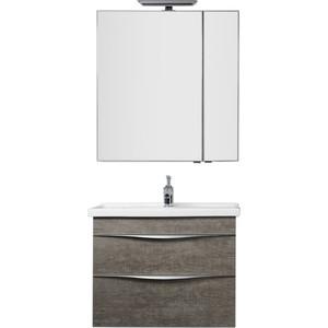 Мебель для ванной Aquanet Эвора 80 дуб антик aquanet комплект мебели эвора 80 дуб антик