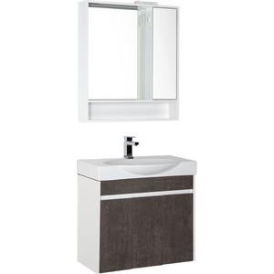 Мебель для ванной Aquanet Коста 76 белый/дуб антик millennium strong дуб антик белый 33 класс
