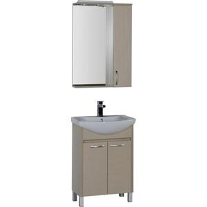 Мебель для ванной Aquanet Донна 60 светлый дуб techlink m2lo светлый дуб