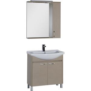Мебель для ванной Aquanet Донна 80 светлый дуб techlink m2lo светлый дуб