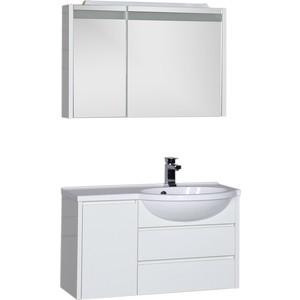 Мебель для ванной Aquanet Лайн 90 R белый